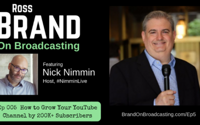 How to Grow Your YouTube Channel by 200K+ Subscribers with Nick Nimmin (Ep 005)