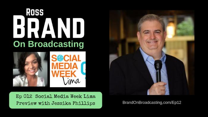 Brand On Broadcasting Social Media Week Lima Jessika Phillips