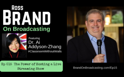 The Power of Hosting a Live Streaming Show with Dr. Ai Addyson-Zhang (Ep15)