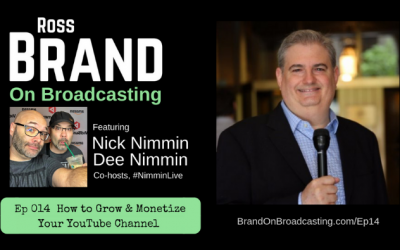 How to Grow Your YouTube Channel with Nick Nimmin and Dee Nimmin (Ep14)