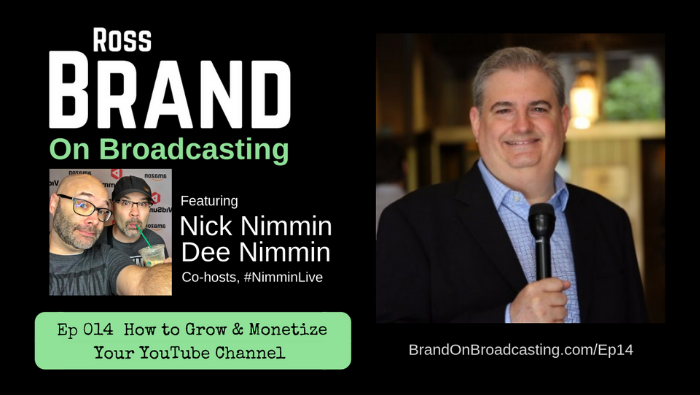 Nick Nimmin Dee Nimmin Brand on Broadcasting Ep14