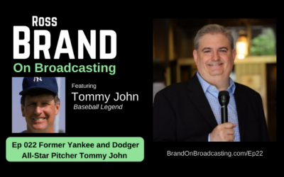 Baseball Great Tommy John: His Life, Career and Surgery (Ep22)